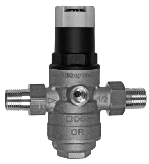 Регулятор давления со сбалансированным седлом и встроенным фильтром (размер ячейки 016 мм), dn20